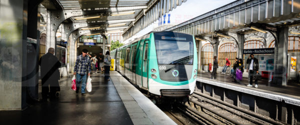 Line No. 2 of the Paris Metro