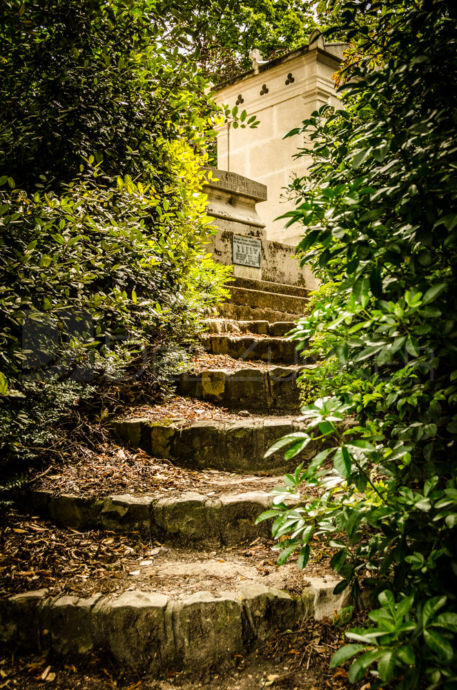 Paris Cemetery Hidden Stairs Houston Commercial Architectural Photographer Dee Zunker