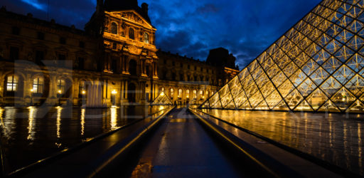 Paris – Louvre Reflections