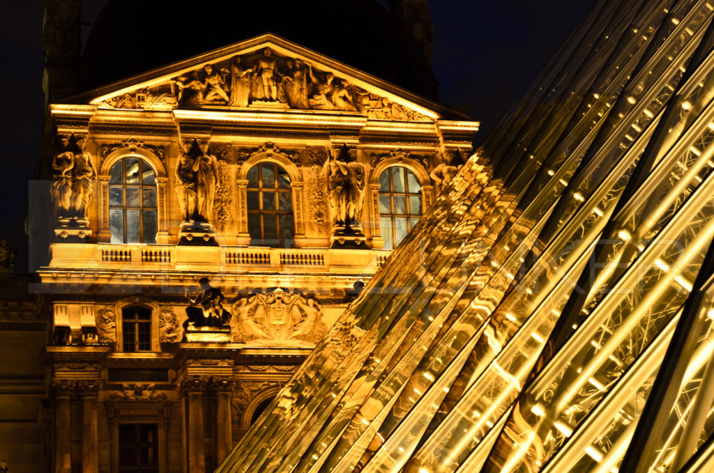 The Louvre at Night Houston Commercial Architectural Photographer Dee Zunker