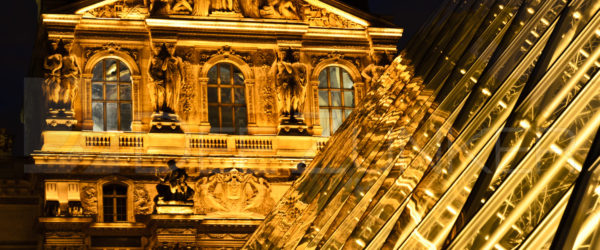 Paris – The Louvre at Night (Palais du Louvre)