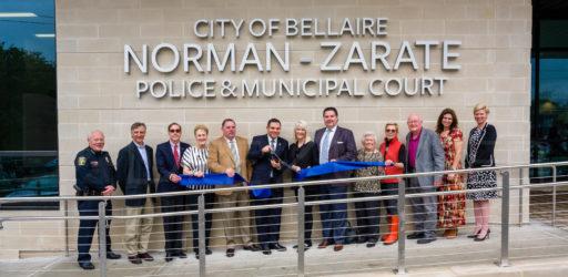 1720-Bellaire Police Norman Zarate Building Dedication