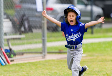 Bellaire Little League T-Ball Rockies Dodgers 20190323