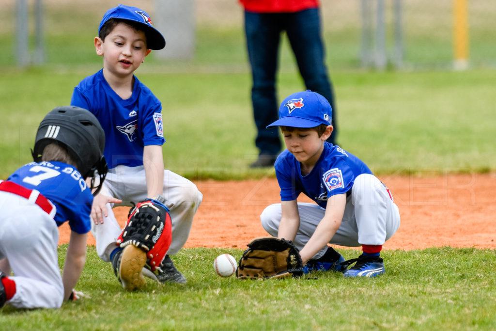 Bellaire Little League Rookies play Houston Sports Photographer Dee Zunker