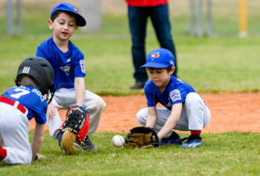 Bellaire Little League Rookies Blue Jays Yankees 20190323