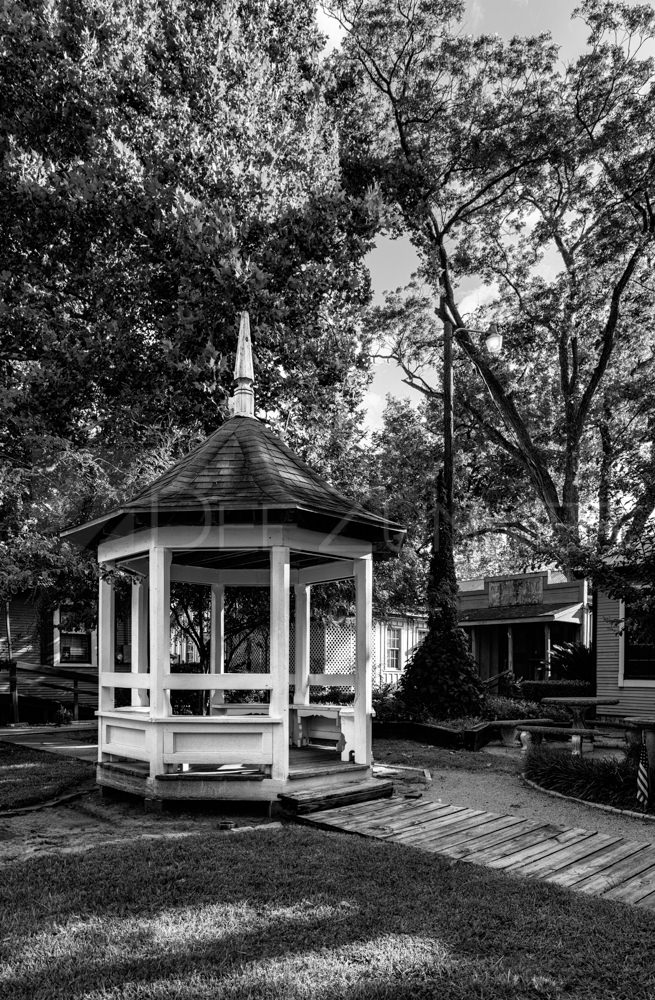 Gazebo in Old Town Spring  201808-SpringTx-002.psd  Houston Commercial Architectural Photographer Dee Zunker
