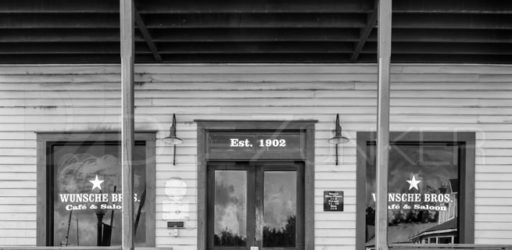Texas Places in Black and White