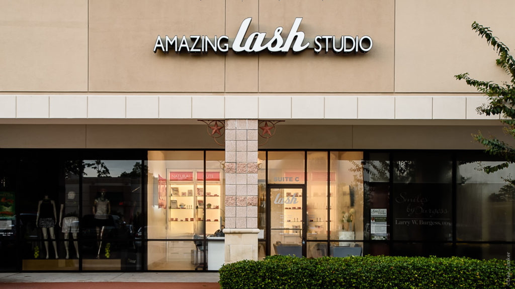 Amazing Lash Studio Indian Springs The Woodlands, TX Commercial Exteriors Photography  AmazingLash-IndianSprings-001.psd  Houston Commercial Architectural Photographer Dee Zunker
