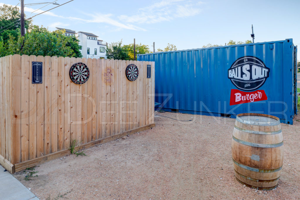 Balls Out Burger - Burgers, Patio, Beer, Wine   BallsOutBurger-008.psd  Houston Commercial Architectural Photographer Dee Zunker