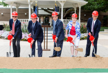 Bellaire Municipal Facilities Groundbreaking 20170509