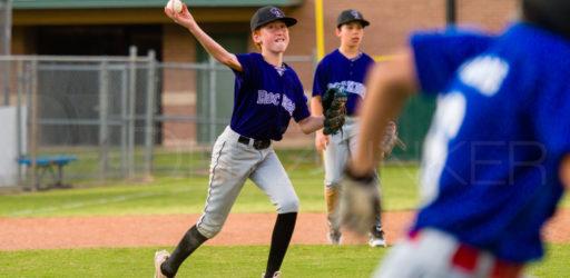 Bellaire Little League Majors Cubs Rockies 20180402
