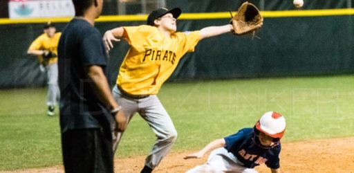 Bellaire Little League Majors Astros Pirates 20180406