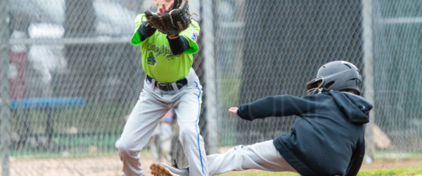 Bellaire Little League Minors Ironbirds Lake Monsters 20180407