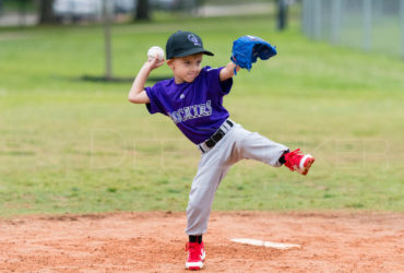 Bellaire Little League TBall Rockies Athletics 20180407