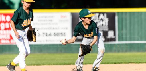 Bellaire Little League Majors Division Cubs Athletics 20170419