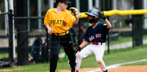 Bellaire Little League Majors Division Pirates Red Sox 20170417