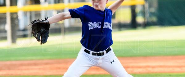 Bellaire Little League Majors Division Rockies Rangers 20170407