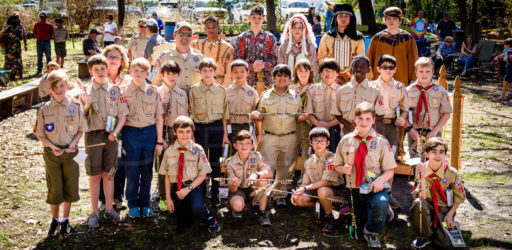 Boy Scouts Pack 130 Crossover 2017