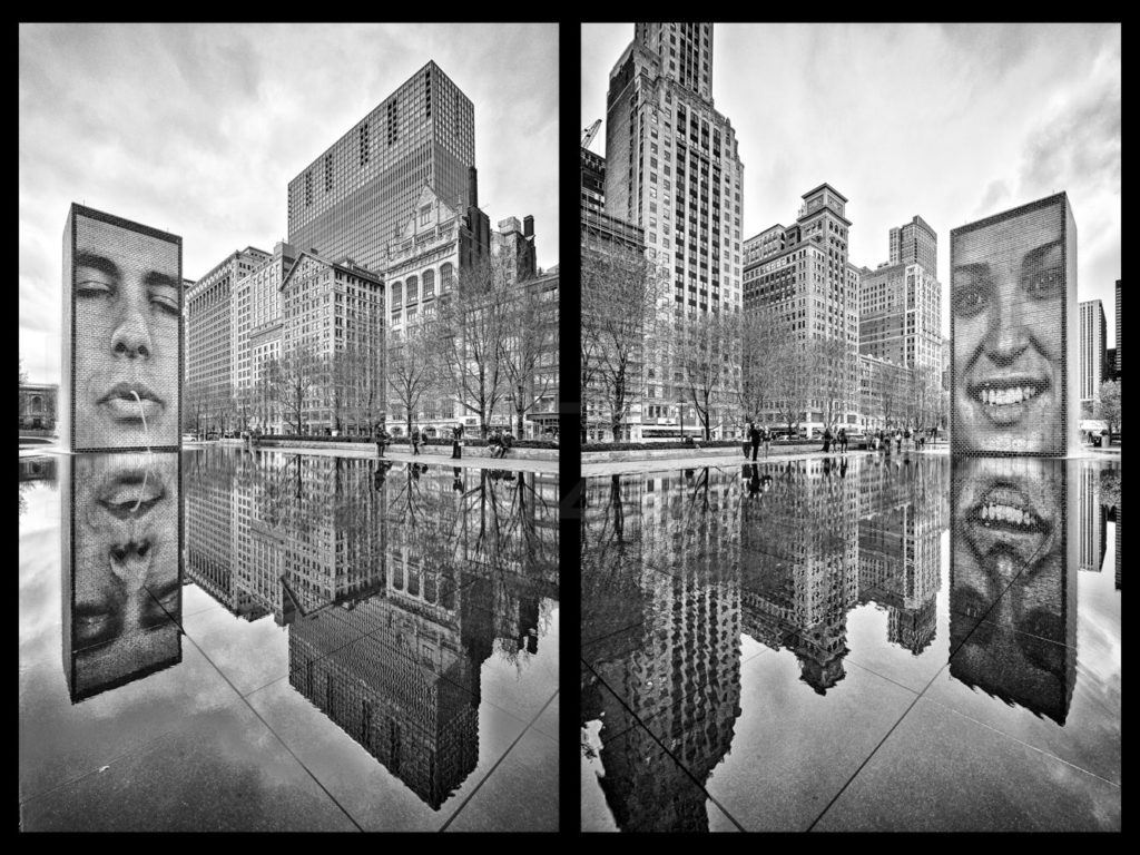 Chicago_Crown_Fountain_2.jpg  Houston Commercial Architectural Photographer Dee Zunker