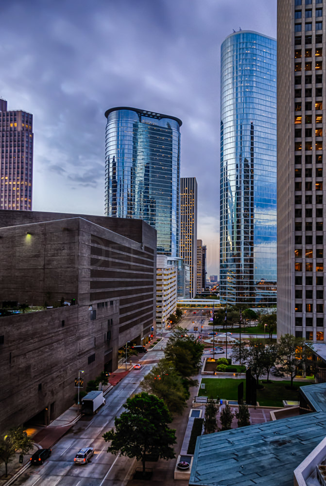 Dawn on Smith Street  DawnOnSmithStreet_Signature.psd  Houston Commercial Architectural Photographer Dee Zunker