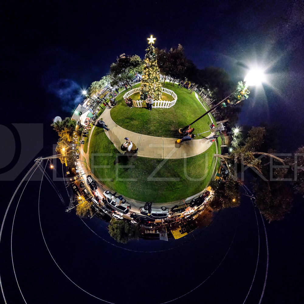 HolidayinPark-Pano2-little planet-2a.psd  Houston Commercial Architectural Photographer Dee Zunker