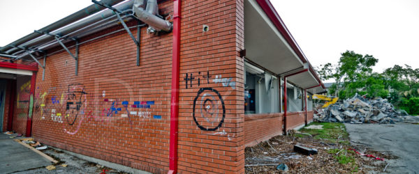 Horn Elementary Demolition – Hit Me on the Corner