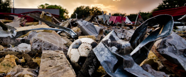 Horn Elementary Demolition – Kick it!