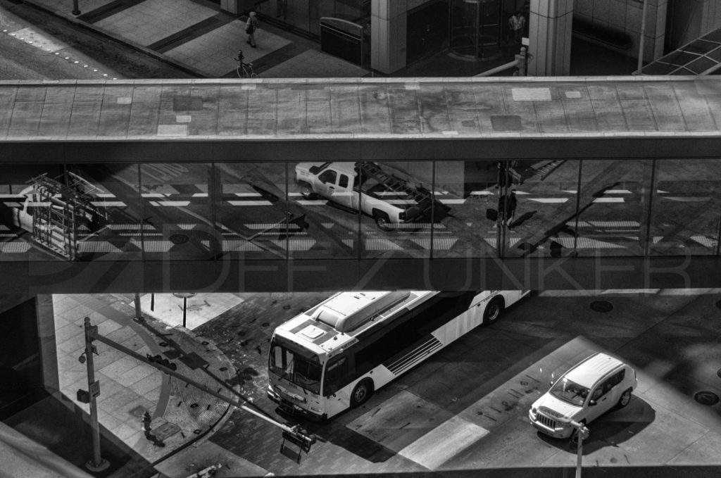 Houston_Skywalk_BW.tif  Houston Commercial Architectural Photographer Dee Zunker