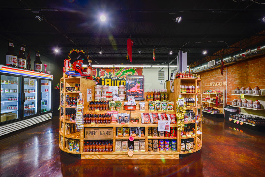 iBurn Sauce Shop  iBURN_1006.tif  Houston Commercial Architectural Photographer Dee Zunker