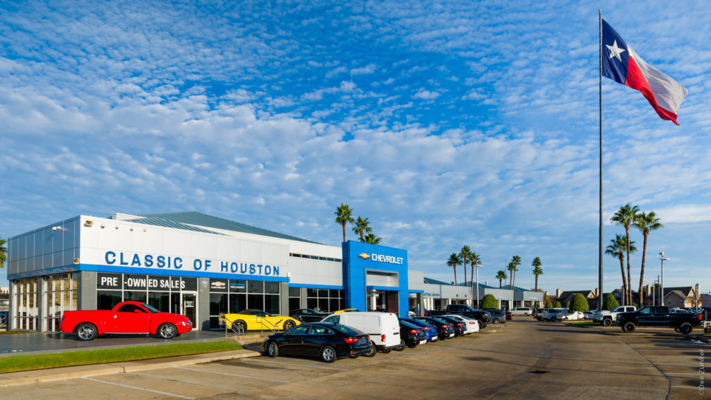 JoelRogersClassicChevrolet-201712-001.dng  Houston Commercial Architectural Photographer Dee Zunker