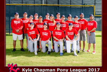 Kyle Chapman Pony League Team Photos 2017