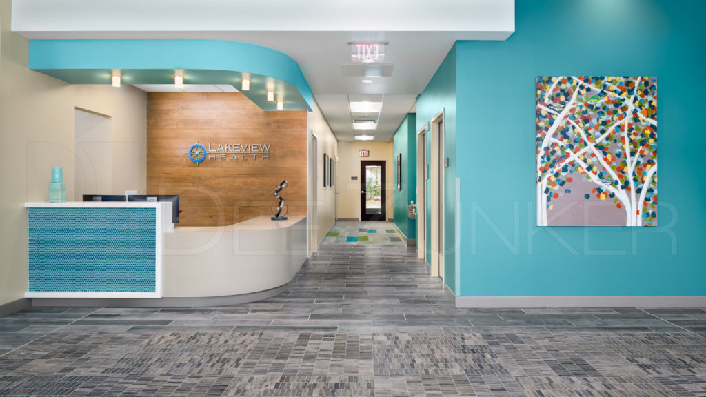 Entrance - Lakeview Health - Woodlands TX  Lakeview-201801-001.jpg  Houston Commercial Photographer Dee Zunker