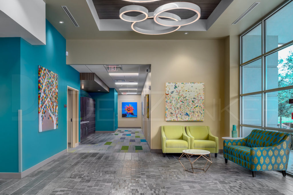 Lobby - Lakeview Health - Woodlands TX  Lakeview-201801-002a.psd  Houston Commercial Photographer Dee Zunker