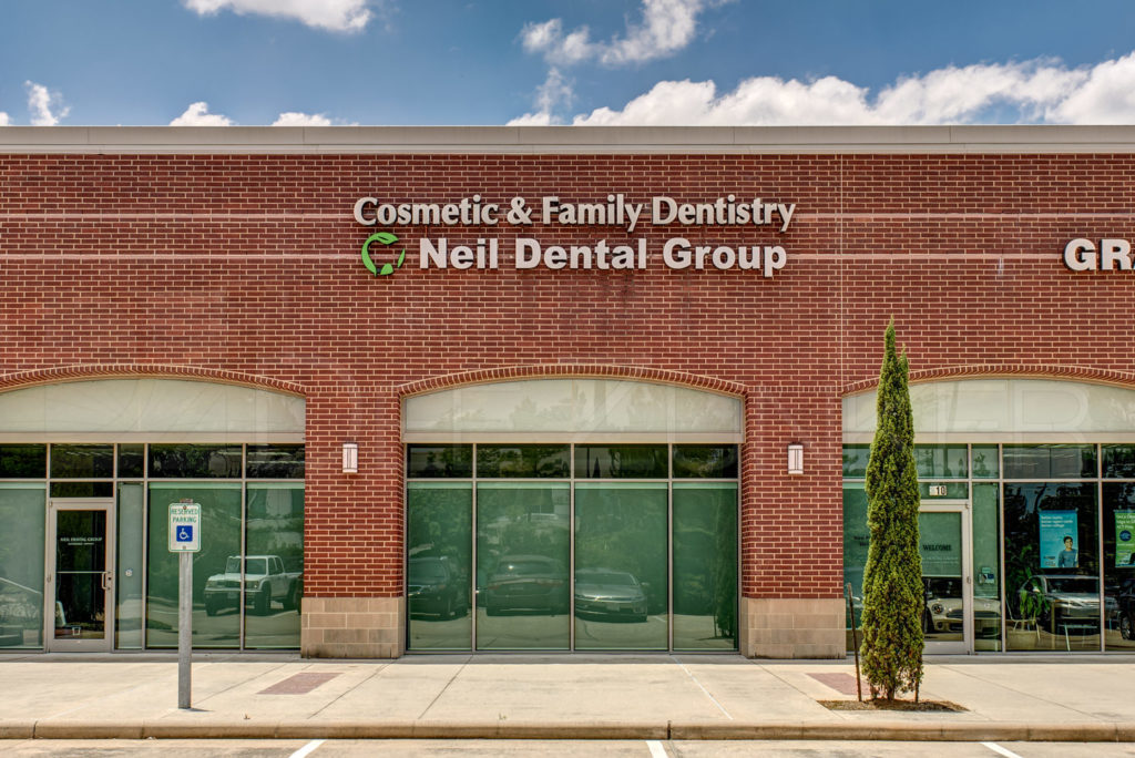 Neil Dental Group Exterior The Woodlands TX Architecture Photography   NeilDentalGroup_001.tif  Houston Commercial Architectural Photographer Dee Zunker