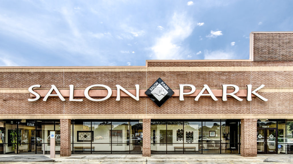 Salon Park Exterior Meyerland Architecture Photography  SalonPark-001.psd  Houston Commercial Architectural Photographer Dee Zunker
