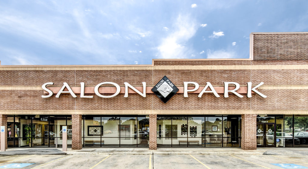 Salon Park Exterior Meyerland Architecture Photography  SalonPark-001.psd  Houston Commercial Photographer Dee Zunker