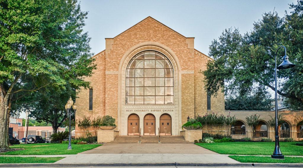 West University Baptist Church  WUBC_Feature_1001.tif  Houston Commercial Architectural Photographer Dee Zunker