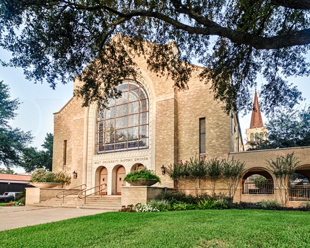 West University Baptist Church  WUBC_Feature_1004.tif  Houston Commercial Architectural Photographer Dee Zunker