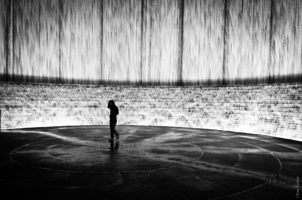 Alone at the Wall - Houston Street Photography by Houston Commercial Photographer