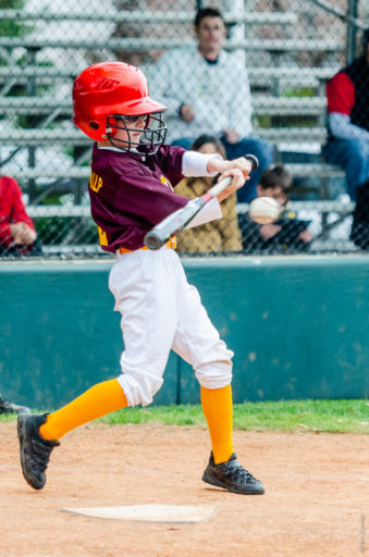 Day Shot of Little League Baseball Player Houston Commercial Architectural Photographer Dee Zunker