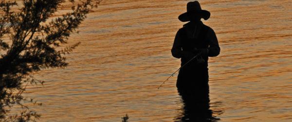 Sunset Fisherman – Galveston, Texas