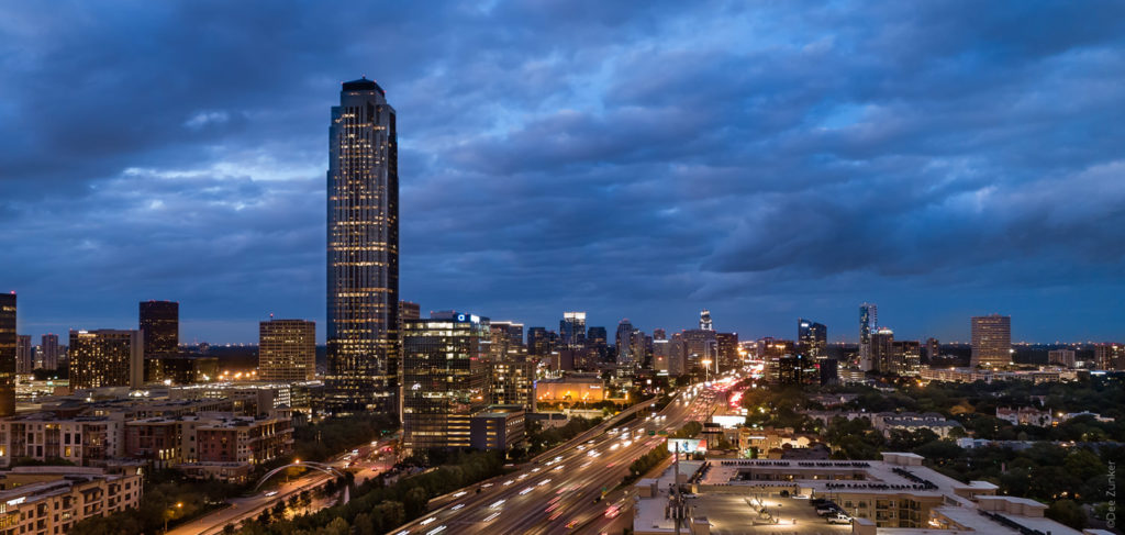 WilliamTower-Cloudy-Twilight-2018-11.psd  Houston Commercial Architectural Photographer Dee Zunker