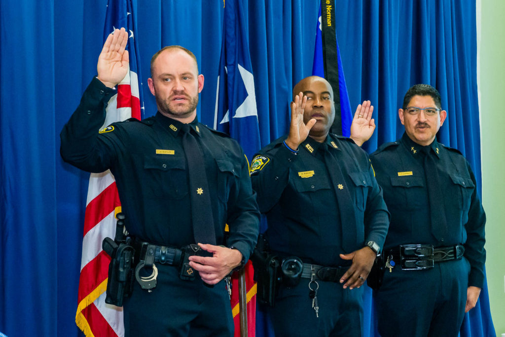 Bellaire Police 2018 Awards in new Civic Center | photos by Houston Commercial Photographer Dee Zunker
